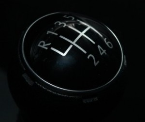 Manual Driving Lesson Gear Stick