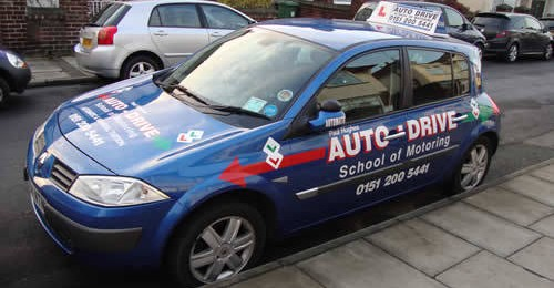 Wirral driving school automatic manual disability driving for Motor city driving school