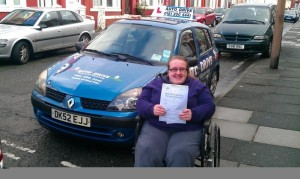 Becky passes with Auto Drive SOM